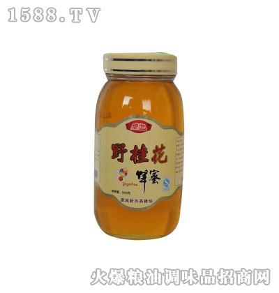 皇宫野桂花蜂蜜1000g