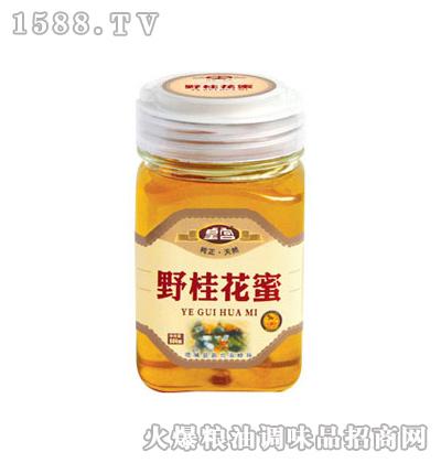 皇宫野桂花蜜500g方瓶