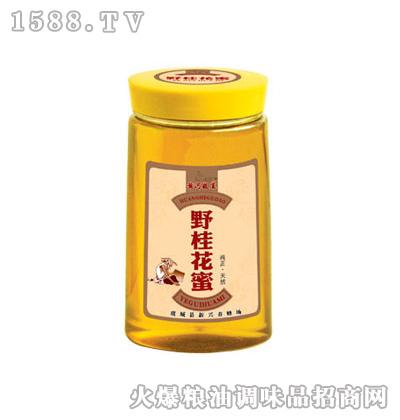 皇宫野桂花蜜500g模切瓶