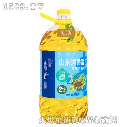 贵香源山茶清香型食用调和油(2代升级)5L