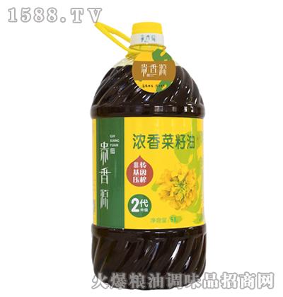 贵香源浓香菜籽油5L
