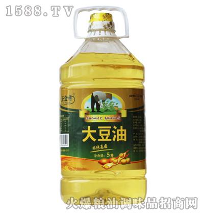 玉金香非转基因大豆油5L
