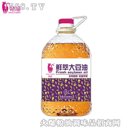艳猫鲜萃大豆油5L