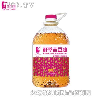 艳猫鲜萃老豆油5L
