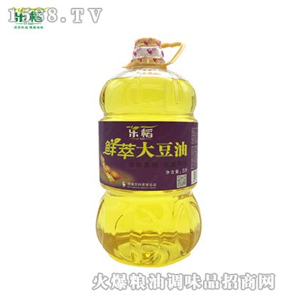 乐稻鲜萃大豆油5L
