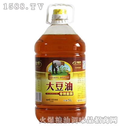 玉金香大豆油5L