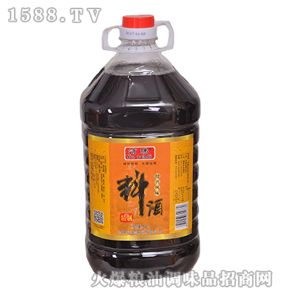 �U�绍兴风味料酒5L