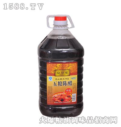 京万家五粮陈醋5L