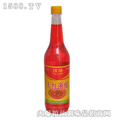 �U�大红浙醋700ml