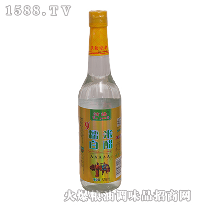 �U�9度糯米白醋620ml