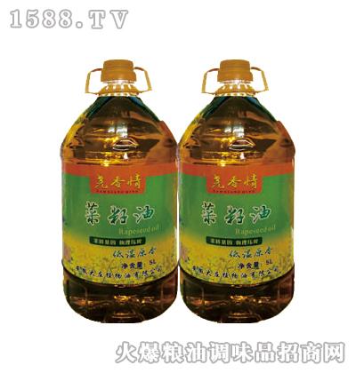 尧香情菜籽油(低温原香)5L