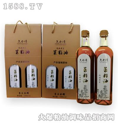 尧香情菜籽油(低温原香)1000ml