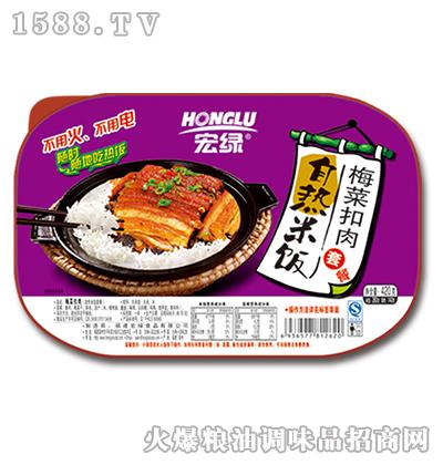 自热米饭梅菜扣肉套餐420g-宏绿