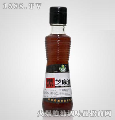馨冠黑芝麻油210ml