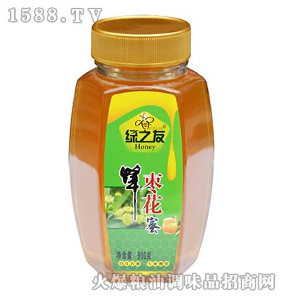 枣花蜂蜜900g-绿之友