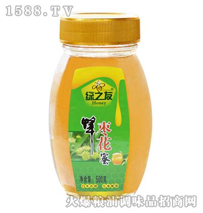 枣花蜂蜜500g-绿之友