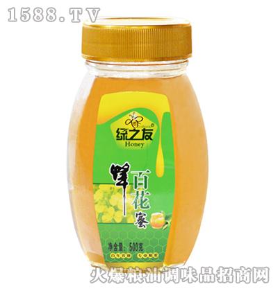 百花蜂蜜500g-绿之友