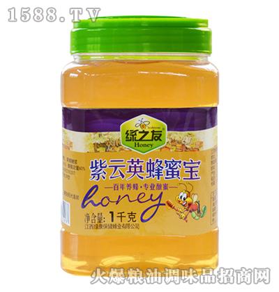 紫云英蜂蜜宝1kg-绿之友
