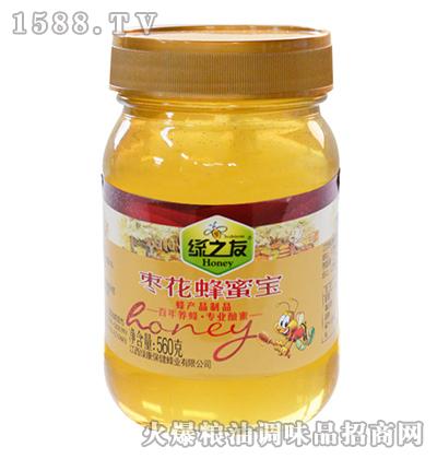 枣花蜂蜜宝560g-绿之友