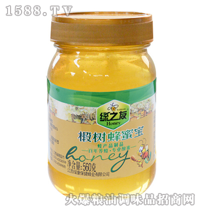 椴树蜂蜜宝560g-绿之友