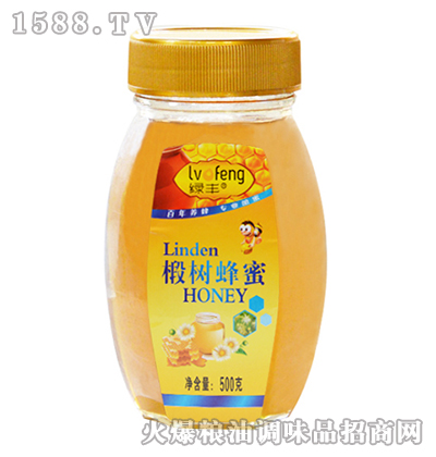 绿丰椴树蜂蜜500g