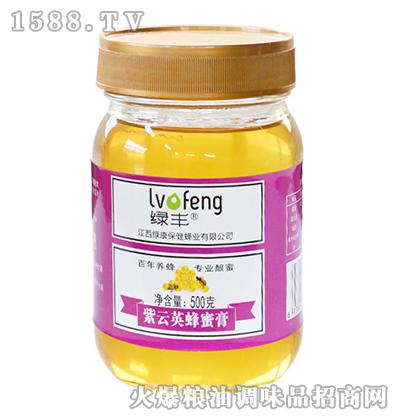 绿丰紫云英蜂蜜膏500g