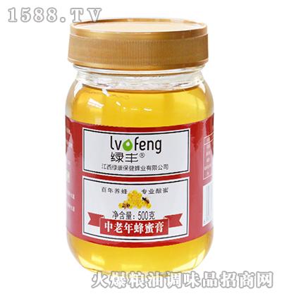 绿丰中老年蜂蜜膏500g