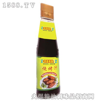 顶香家族烧烤汁230mlx24瓶