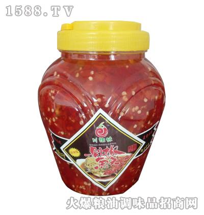 川姐妹精制剁椒鱼头(原味型)2kg