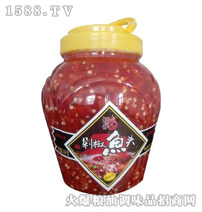 湘酱元精制剁椒鱼头(原味型)2kg