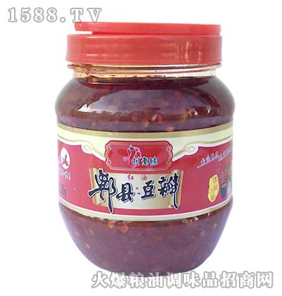川老妹郫县红油豆瓣500g