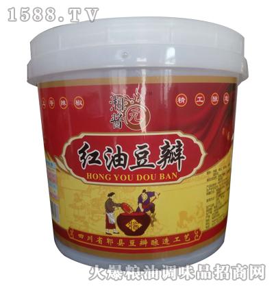 湘酱元红油豆瓣