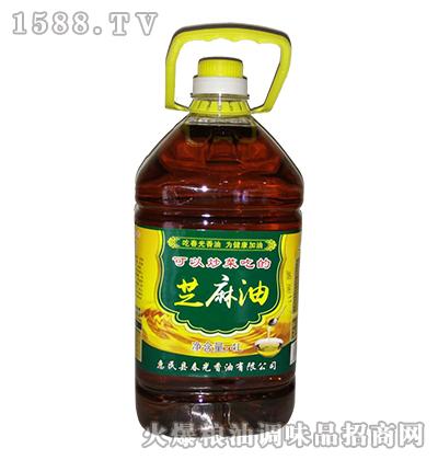 春光芝麻油4L