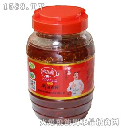 红油郫县豆瓣酱1000克-君乐园