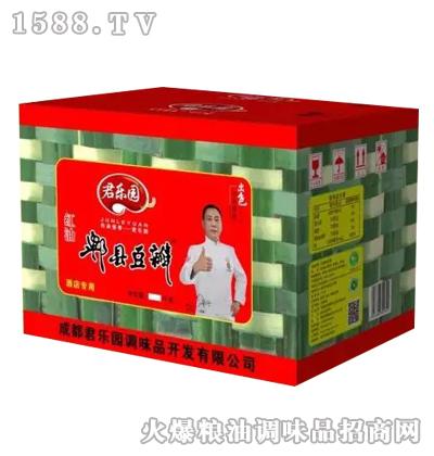 红油郫县豆瓣酱(彩箱)-君乐园