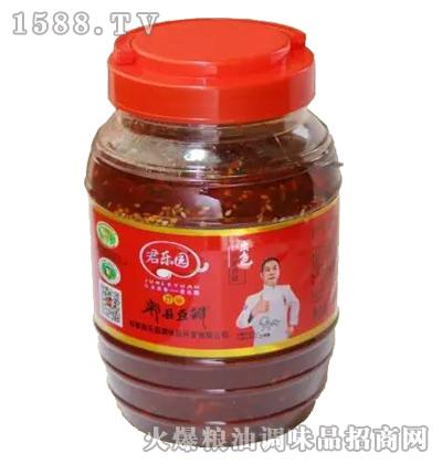 红油郫县豆瓣酱800克-君乐园
