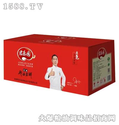 君乐园红油郫县豆瓣酱(箱)