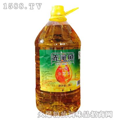 赤尾鱼一级大豆油5L