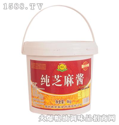丰彩-纯芝麻酱4kg