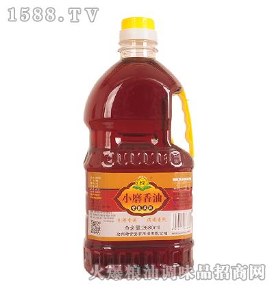 丰彩-小磨香油2680ml