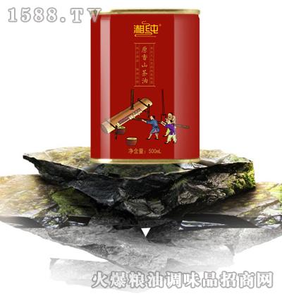 湘纯原香山茶油500mL
