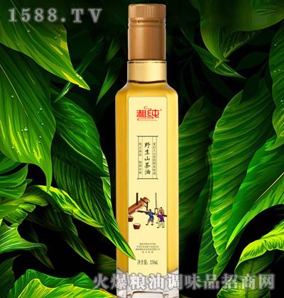 湘纯原香山茶油(玻璃瓶)250mL