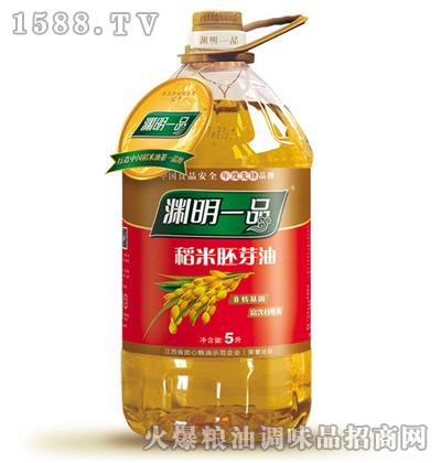 渊明一品稻米胚芽油5L