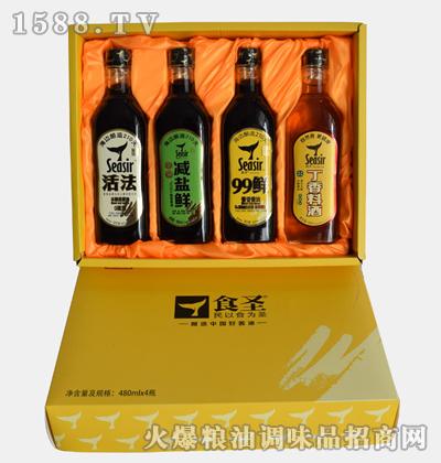 食圣酱油料酒礼盒系列
