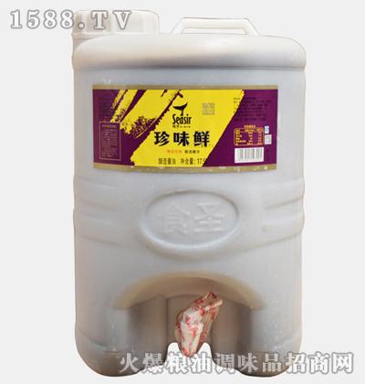 食圣珍味鲜桶装17.5L