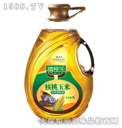 禧��乐核桃玉米调和油5L