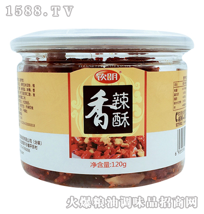 钦明香辣酥120g