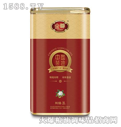 金尊茶油(红罐)2L