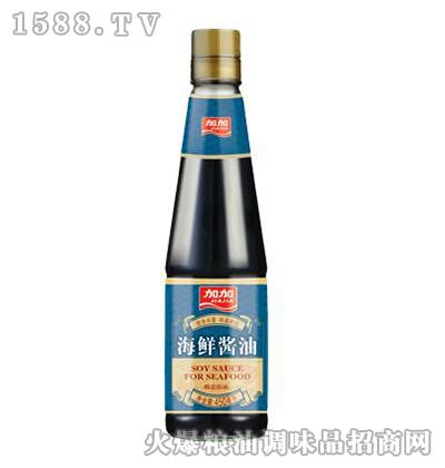 加加特级海鲜酱油450mL