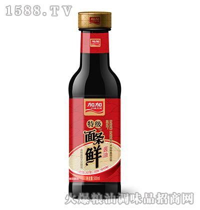 加加特级面条鲜酱油500ml